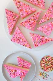 Frosted Sugar Cookie Bars Recipe
