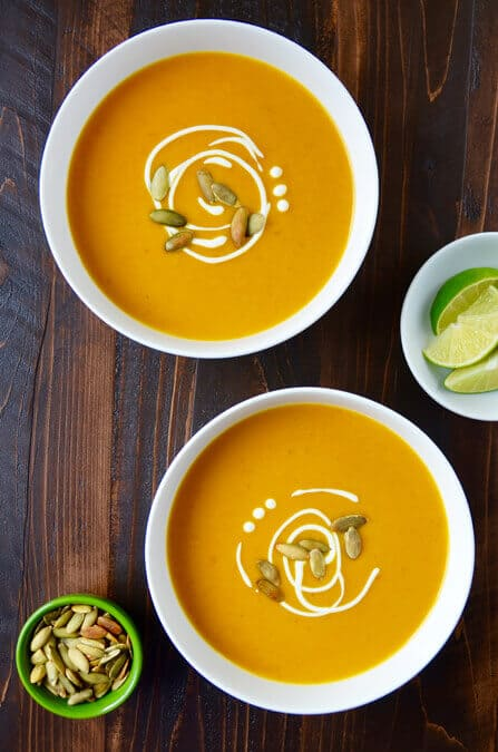 MONDAY: Thai Coconut Pumpkin Soup
