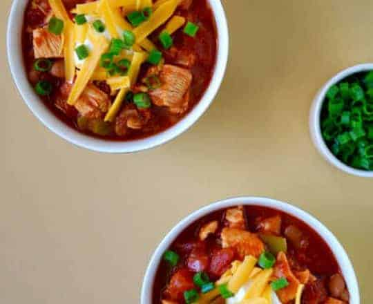 30-Minute Leftover Turkey Chili