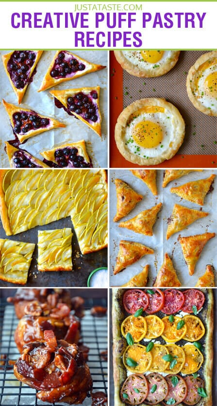 Creative Puff Pastry Recipes