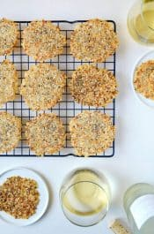 Everything Parmesan Cheese Crisps Recipe
