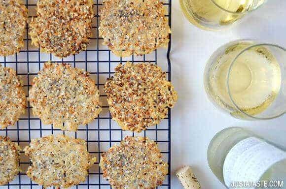 Everything Parmesan Cheese Crisps Recipe