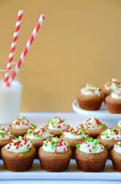Gingerbread Cookie Cups with Cream Cheese Frosting Recipe