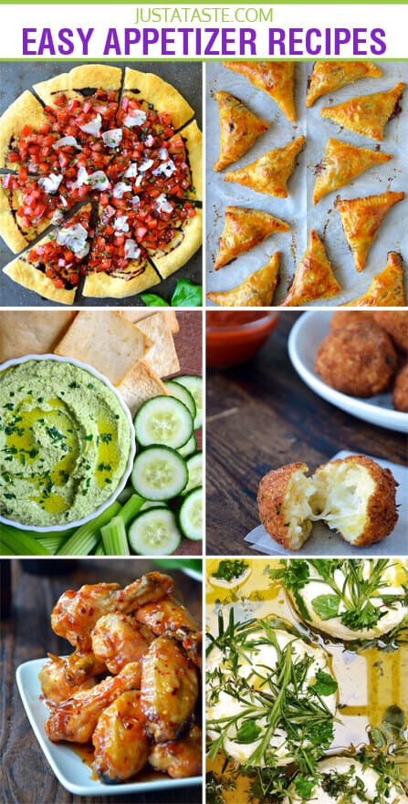 Easy Appetizer Recipes Just A Taste