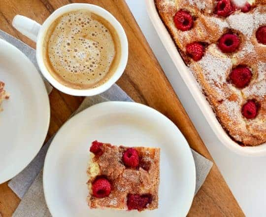 Raspberry Sour Cream Coffee Cake Recipe