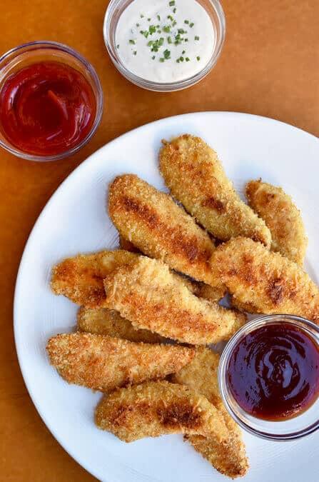 Parmesan Baked Chicken Tenders Just A Taste