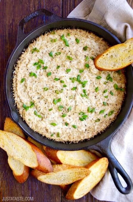 Cheesy Roasted Cauliflower Dip Recipe