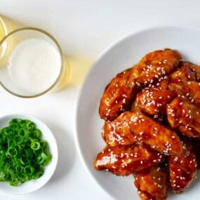 Crispy Baked Teriyaki Chicken Wings Recipe
