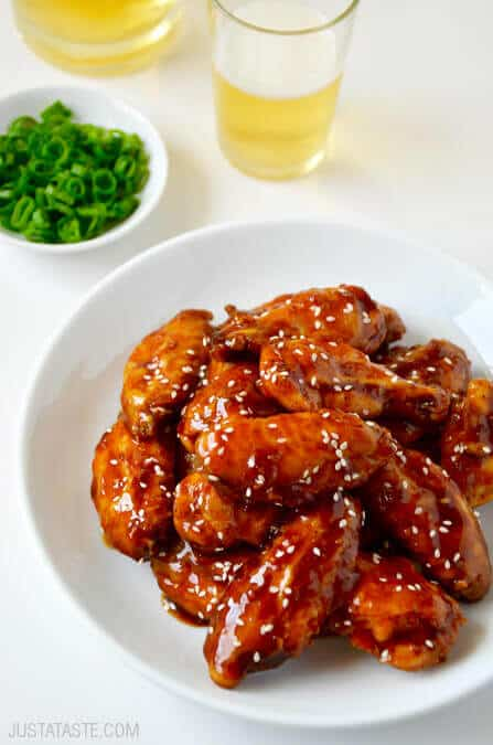 Crispy Baked Teriyaki Chicken Wings Recipe