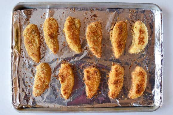 Parmesan Baked Chicken Tenders Recipe