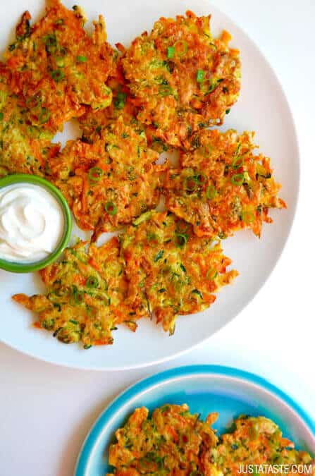 Quick and Crispy Vegetable Fritters Recipe