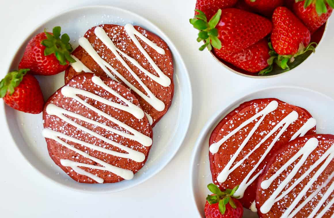 Image result for Red Velvet Pancake
