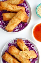 Easy Sesame Chicken Egg Rolls