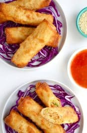 Easy Sesame Chicken Egg Rolls Recipe