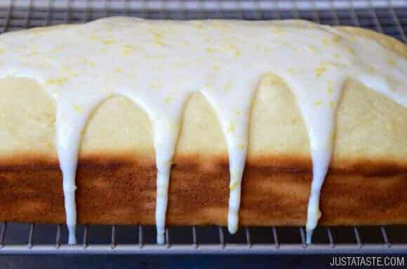 Just a Taste | Glazed Lemon Bread