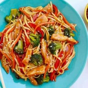 Teriyaki Chicken Stir-Fry with Noodles Recipe