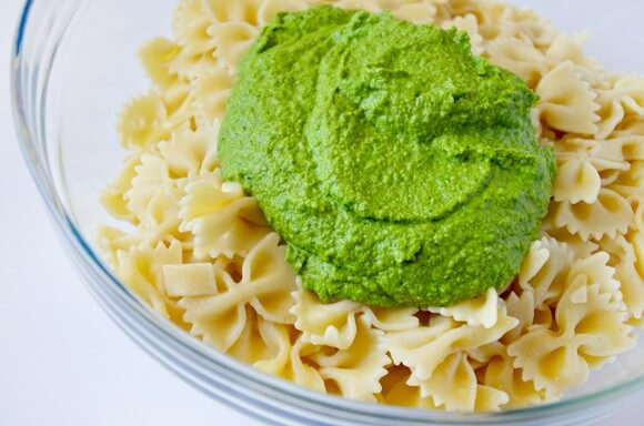 Pea Pesto Pasta Salad Recipe