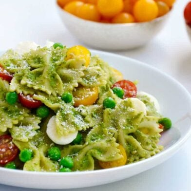 TUESDAY: Pea Pesto Pasta Salad