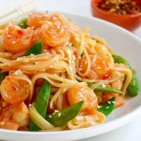 20-Minute Sweet and Sour Shrimp Stir-Fry
