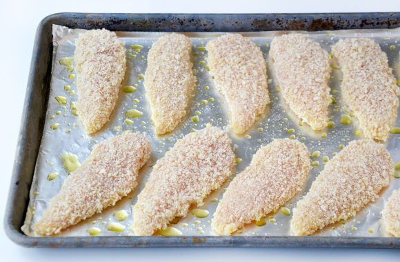 Baked Orange Chicken Tenders Image