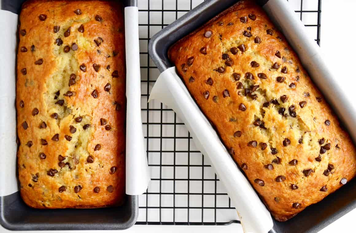 Cake Mix Banana Bread With Sour Cream