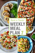 Weekly Meal Plan 7 and Shopping List