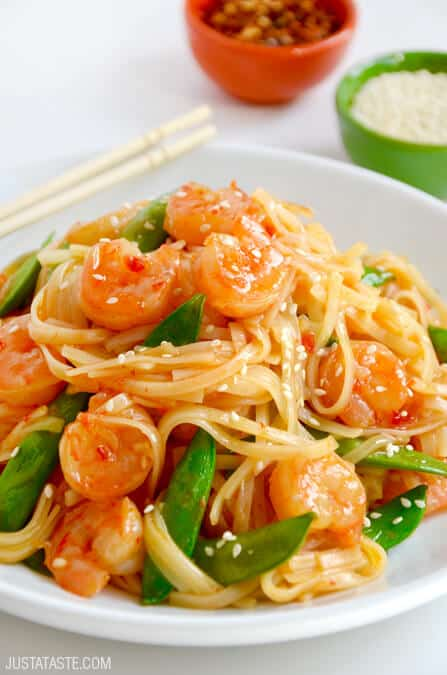20-minute-sweet-sour-shrimp-stir-fry-recipe