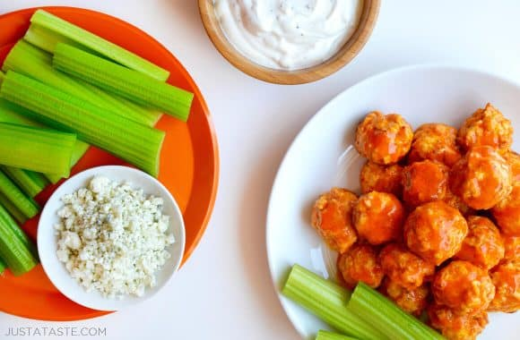 Baked Buffalo Chicken Meatballs Photo