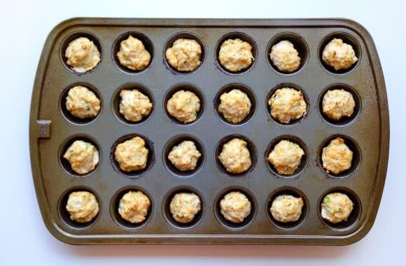 Baked Buffalo Chicken Meatballs Photo