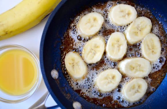 Just a Taste | Easy French Toast with Caramelized Bananas