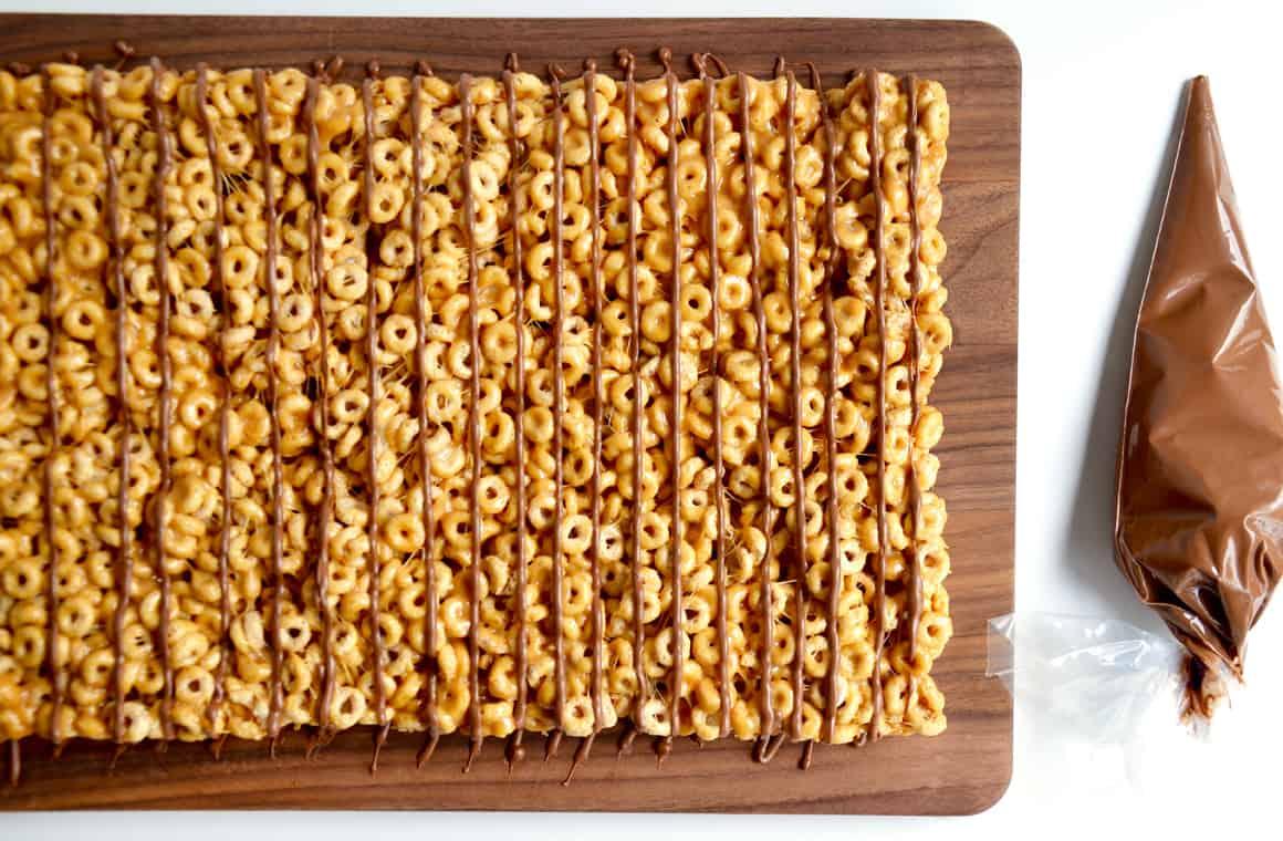 Just A Taste Peanut Butter Cheerios Marshmallow Treats