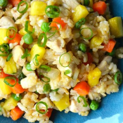 TUESDAY: Pineapple Chicken Fried Rice