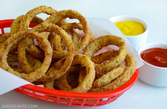 Crispy Baked Onion Rings