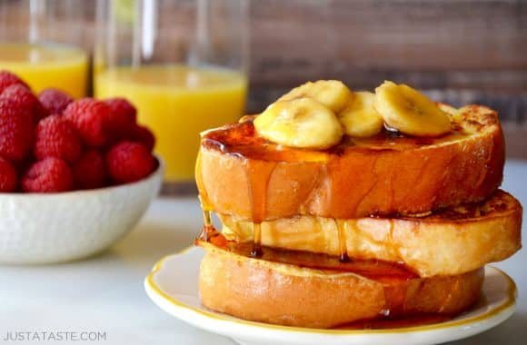 Easy French Toast with Caramelized Bananas Photo