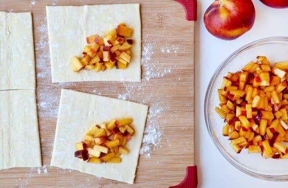 Easy Peach Turnovers Photo