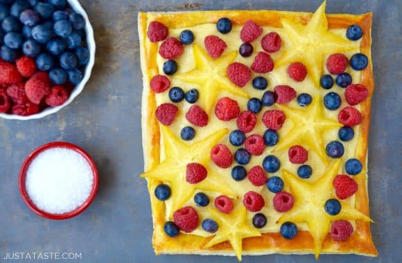 Fruit Tart with Vanilla Pastry Cream Recipe