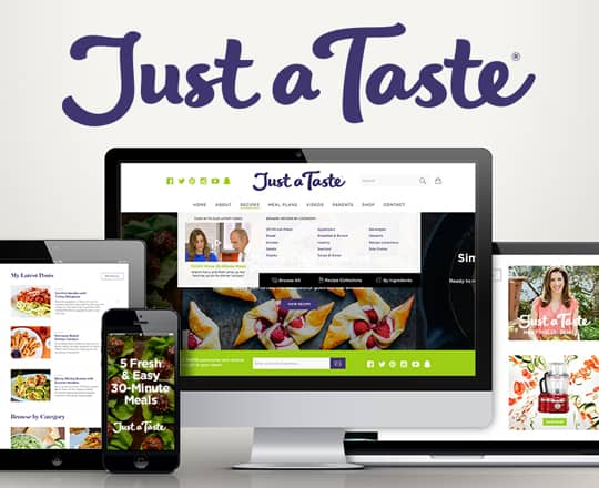 Discover the New Just a Taste!