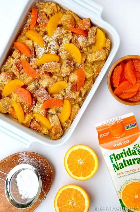 Orange Baked French Toast Recipe