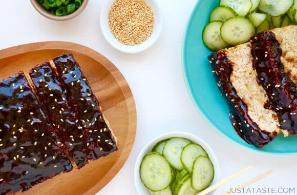 Glazed Asian Chicken Meatloaf Recipe