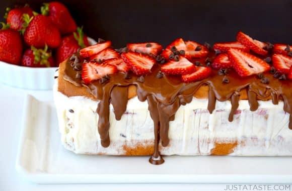 The Easiest-Ever Ice Cream Cake Recipe