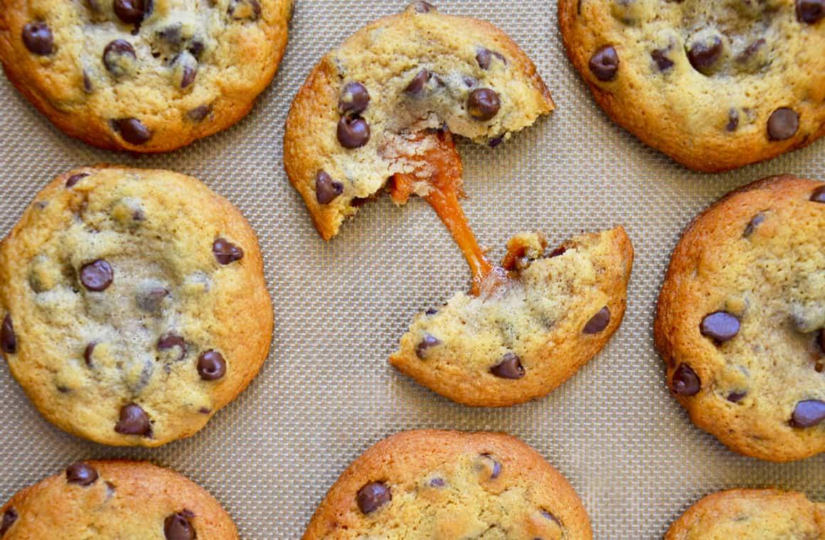 Caramel Chocolate Chip Cookie Recipe