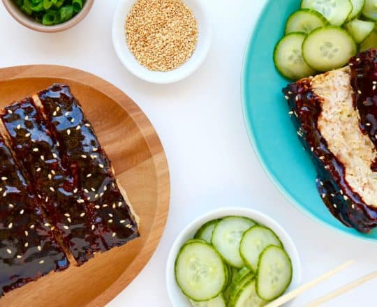 Glazed Asian Chicken Meatloaf