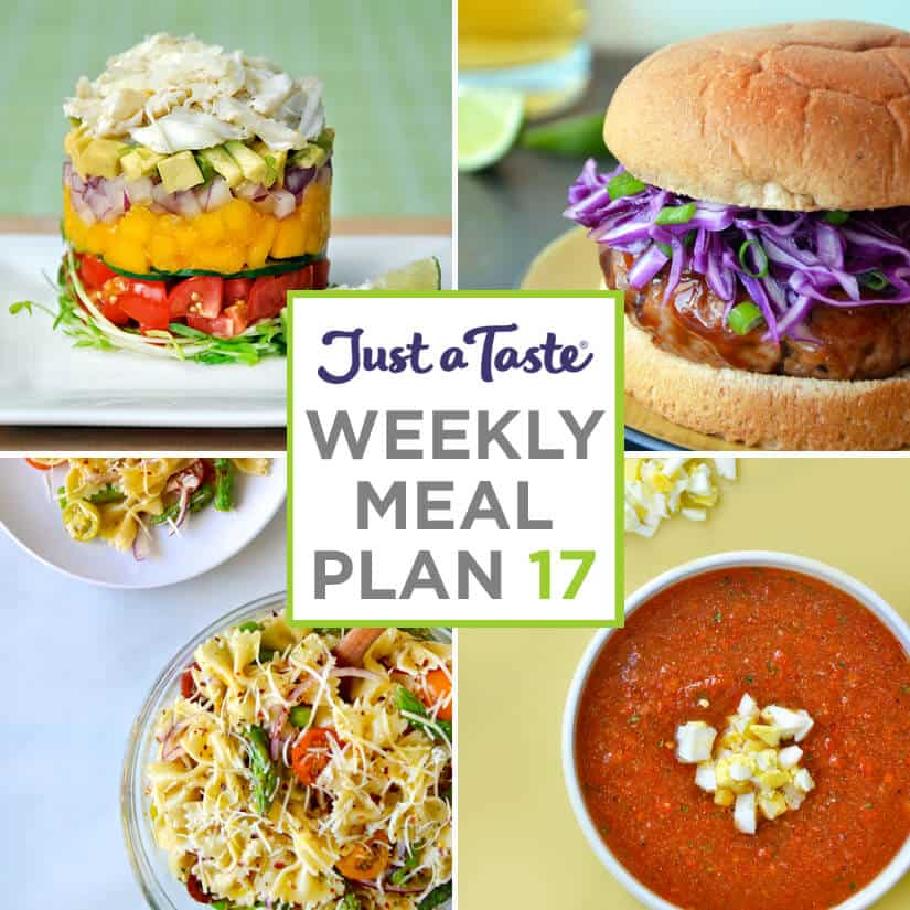 Weekly Meal Plan 17 and Shopping List