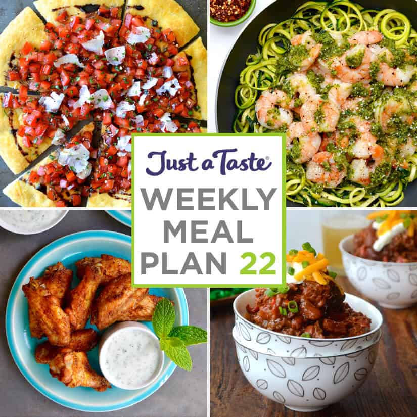 Weekly Meal Plan 21 and Shopping List