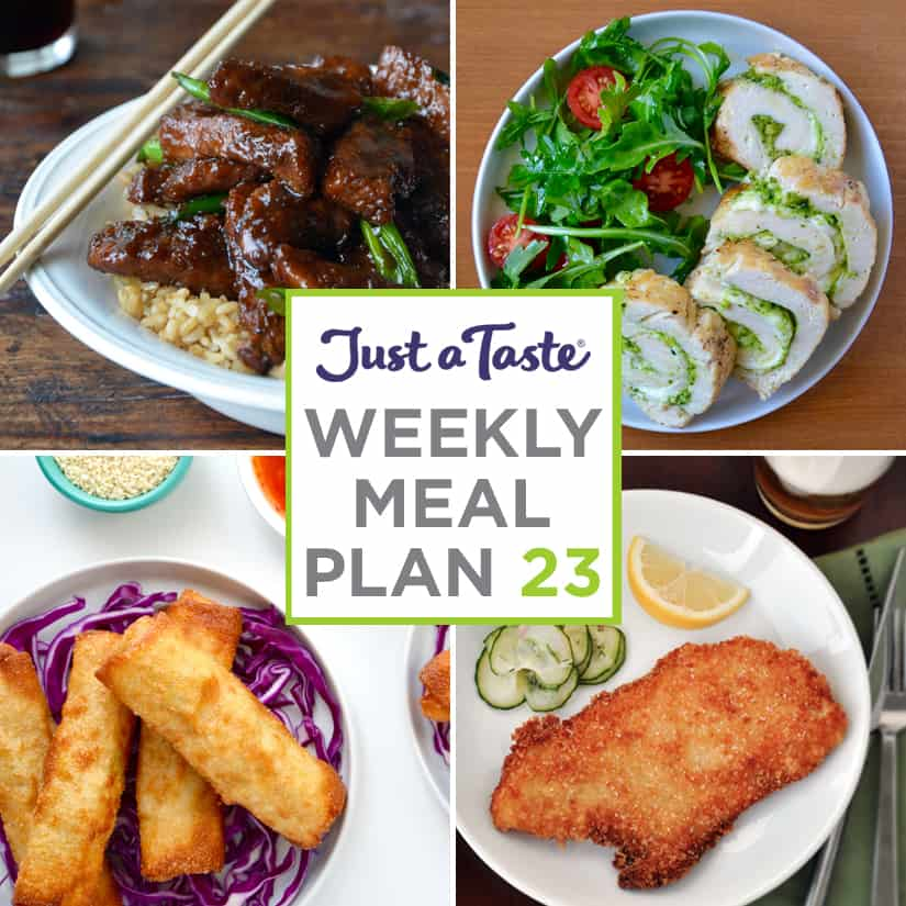 Weekly Meal Plan 23 and Shopping List