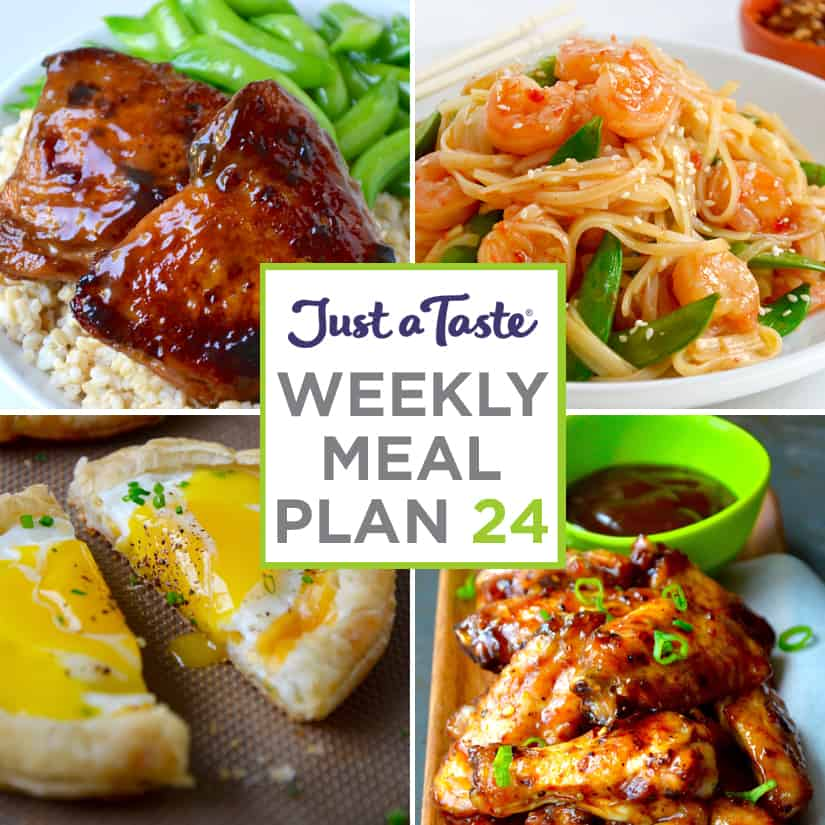 Weekly Meal Plan 24 and Shopping List