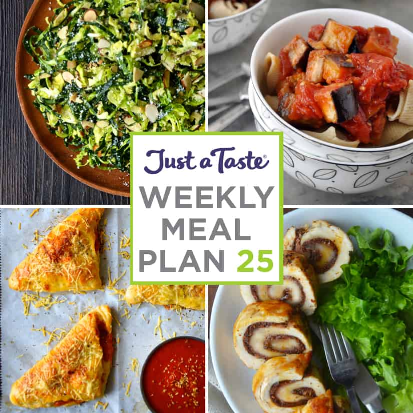 Weekly Meal Plan 25 and Shopping List