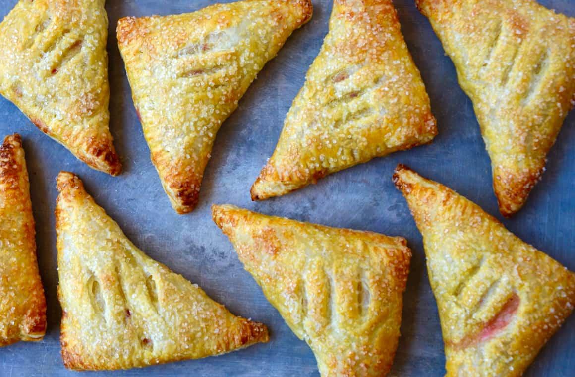 Just a Taste | Easy Peach Turnovers