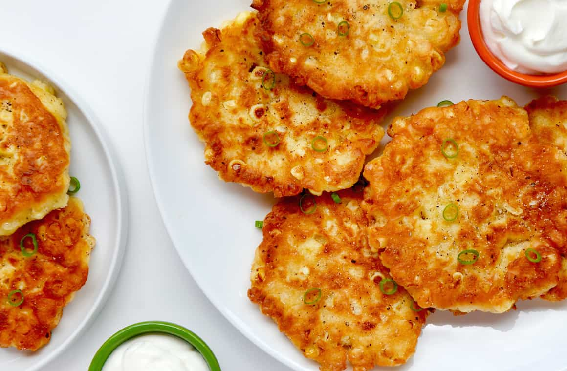 Quick And Easy Corn Fritters Just A Taste