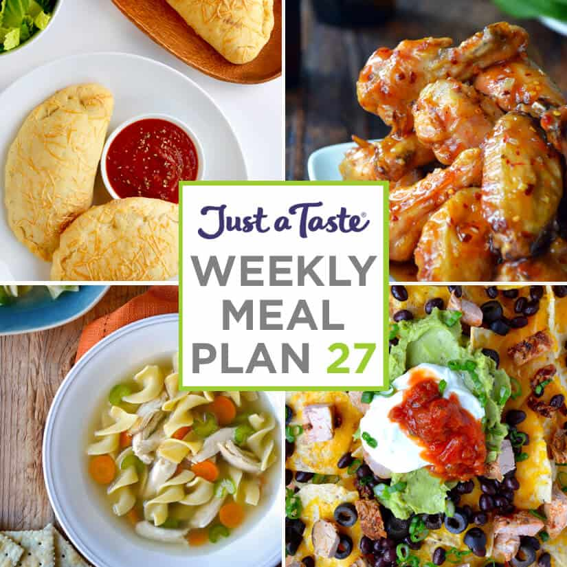 Weekly Meal Plan 27 and Shopping List